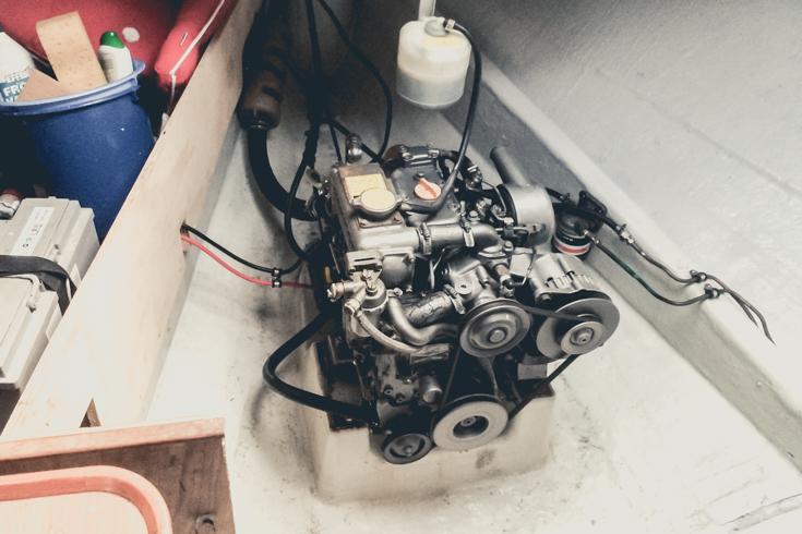Yanmar bensin motor