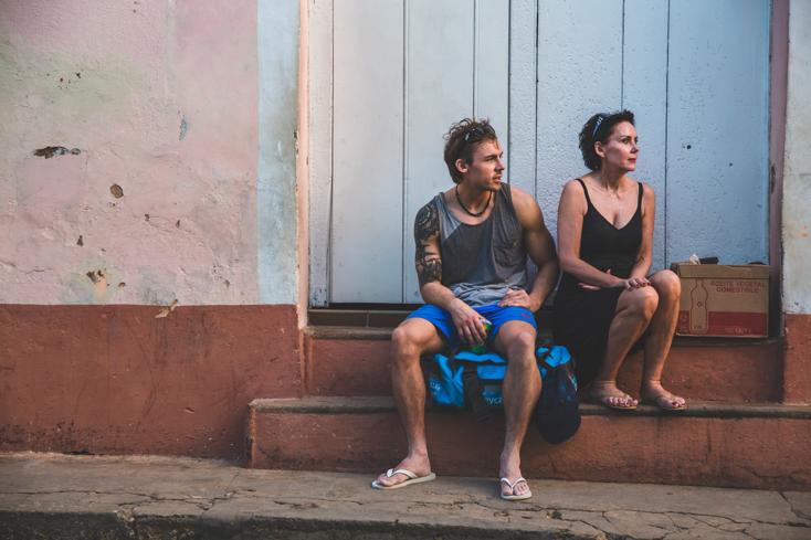 Bror og mor i Havana
