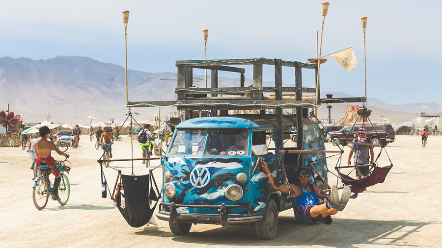 Burning Man RV