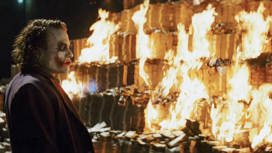 Brenne penger